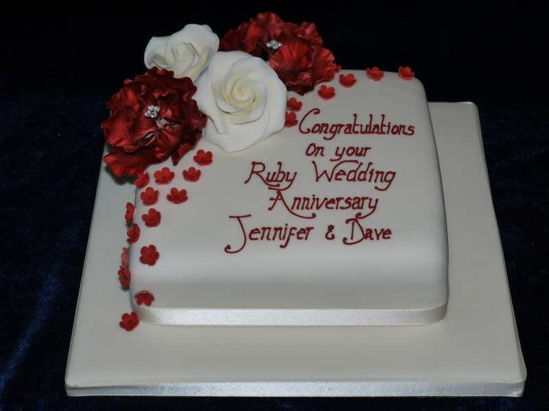 Rd Wedding Anniversary Cakes